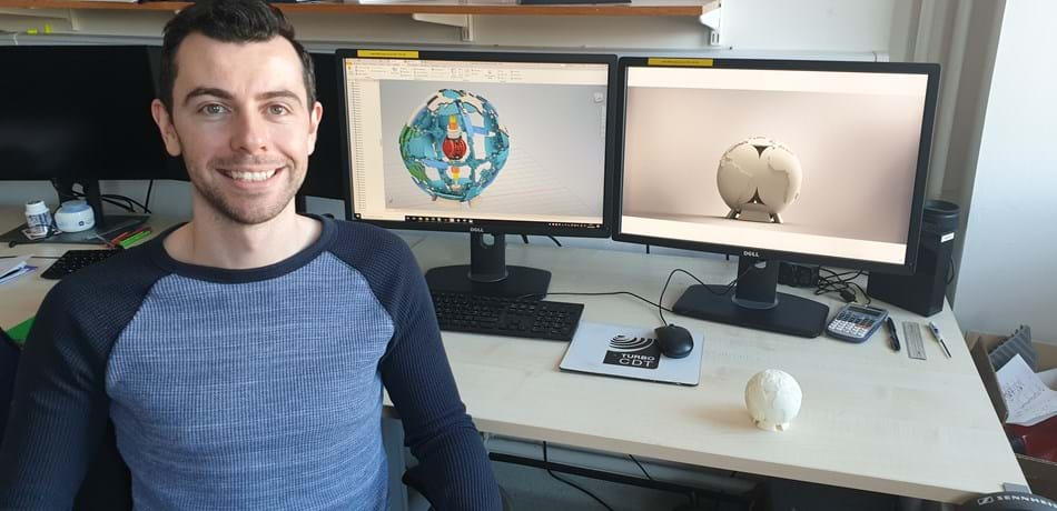 DPhil student wins Stratasys Design Challenge Award